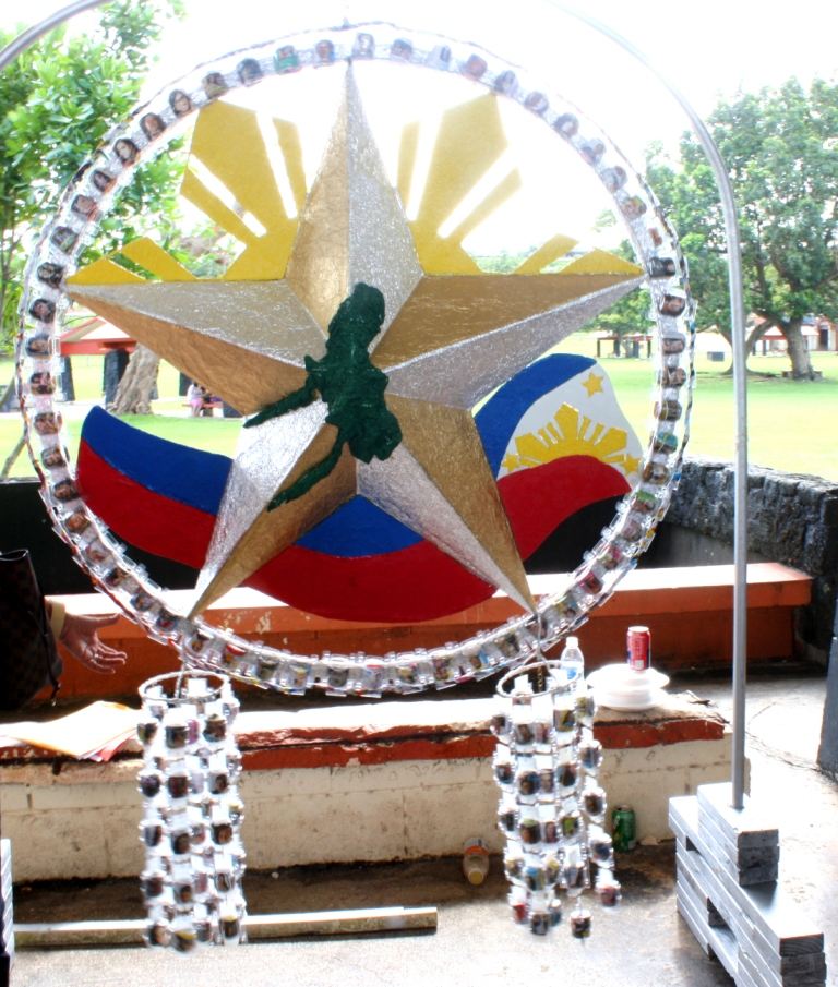 Embassy of the philippines news for Recycled paper lantern